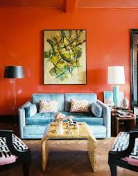 best orange living room ideas catchy interior design plan with