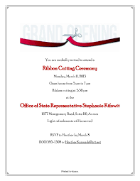 10 best images of ribbon cutting invitation wording ribbon
