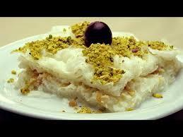 ramadan cuisine gullac recipe ramadan dessert