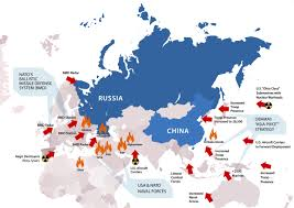 Europe And Russia Map by Apf Stop Nato Warmongering National Vanguard