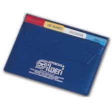 porta documenti auto porta documenti auto con schede f to 19 5 x 15 cm personalizzato