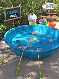 how to play the fish table fishing pond magnetic carnival game trunk or treat pinterest