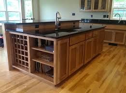 beautiful built in wine rack in kitchen cabinets kitchen cabinets