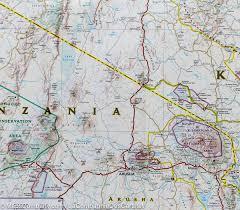National Geographic Map Map Of Kenya National Geographic U2013 Mapscompany