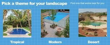 how to landscape around an inground pool in a weekend
