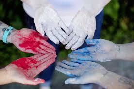 homemade nontoxic colored powder u2013 a beautiful mess