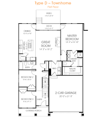 townhome type d edgehomes