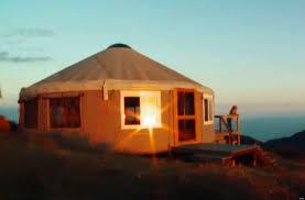Yurt House Sacred Spaces Seane Corn U0027s Portable Yurt Video Huffpost