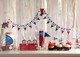 anchor baby shower decorations nautical baby shower ideas table view baby shower ideas gallery