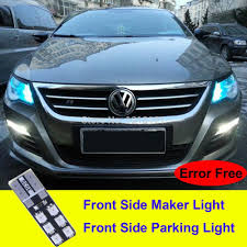 tiguan volkswagen lights scoe w5w 2x12smd error free front parking light for volkswagen vw