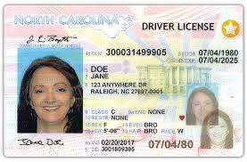 North Carolina travel documents images Ncdot n c real id png