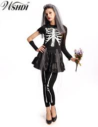 halloween costume womens online get cheap skeleton halloween costume women aliexpress com