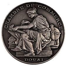 chambre de commerce douai jeton chambre de commerce douai argent silver eur 20 00