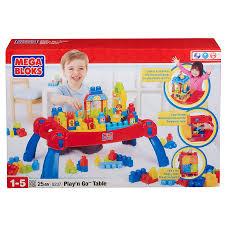 mega bloks first builders table mega bloks play n go table toys r us australia great gift ideas