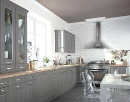cuisine taupe photos de cuisines renovees cuisine dune cuisine en cuisine photos