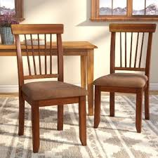 Rustic Kitchen Furniture Rustic Kitchen Dining Chairs You Ll Wayfair
