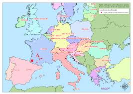 Map Of The European Union by Avian Influenza European Commission