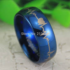 blue tungsten rings images Free shipping usa uk canada russia brazil hot selling 8mm shiny jpg