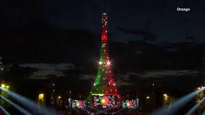 What Are The Colors Of The Portuguese Flag Day 17 Portugal U2013 June 30th Light Up The Eiffel Tower By Orange