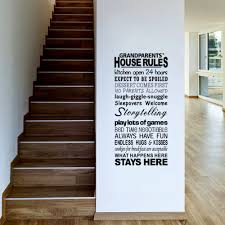 sticker screen picture more detailed picture about english english proverbs house rules large letter words pvc removable room zy8240 vinyl decal art diy wall