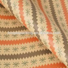 christmas kraft wrapping paper hot sale printed christmas kraft wrapping paper for gift craft