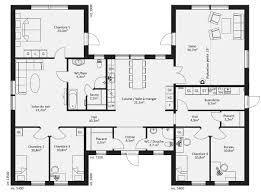 plan maison 3 chambres plain pied plan maison plain pied 3 chambres 1 bureau bricolage newsindo co con