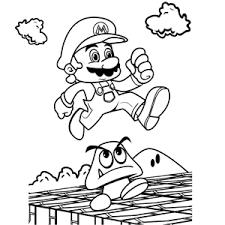 super marios bros coloring pages leuk voor kids