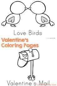 valentine u0027s coloring pages simple fun kids