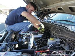 ford truck maintenance schedule fluid basics diesel service schedule diesel power magazine