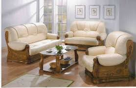 Leather Sofa Wooden Frame Terrific Wood And Leather Sofa Antique Solid Wood Frame Leather