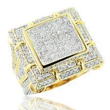 mens gold diamond rings large mens diamond ring ct k gold mens jewelry jpg eternity jewelry