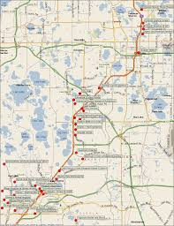 Florida Map Orlando by Orlando Map Tourist Attractions Travel Map Vacations