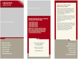 pamphlet template cerescoffee co
