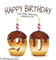 90 geburtstag sprüche happy birthday in keksschrift zum 90 geburtstag