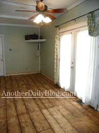 Wide Plank Laminate Wood Flooring Another Daily Blog Diy How To Make Plywood Subfloor Look Like Wide