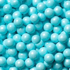 powder blue blue pearl candy beads 10lb