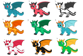 chibi dragon adoptables by cheap adopts for you on deviantart
