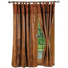 faux leather curtains home design ideas and pictures