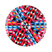 zak design kaleidoscope salad plates for sale mixed navajo zak style