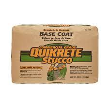 quikrete 80 lb base coat stucco 113980 the home depot