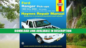 ford 1999 ranger owners manual pdf download