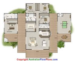 sloping land house floor plan with granny flat option my board