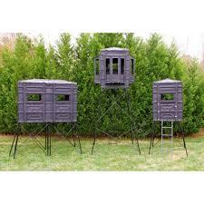 hughes 4x4 bay window bow hunting blind hideout box bay half door