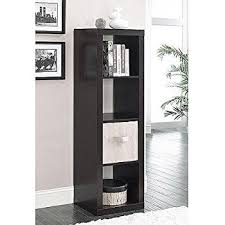 White Cube Bookcase Amazon Com Better Homes And Gardens 5 Cube Organizer Storage
