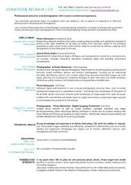 Self Employed Resume Samples by Photographer Resume Pdf Free Resume Example And Writing Download