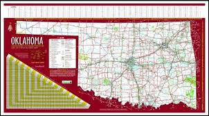 current oklahoma state highway map