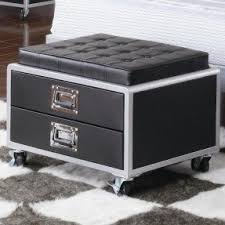 Rolling Ottoman Ottomans With Wheels Foter