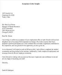 doc 25503300 employment acceptance letter u2013 how to write a job