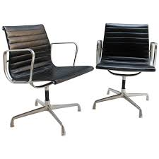 pair of chairs ea108 by eames for herman miller for sale at 1stdibs