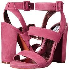 steve madden women u0027s canaan dress sandal mauve suede shoes sandals